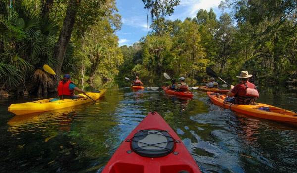 Canoe kayak rental florida